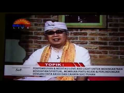 Healing And Interactive Mahattama Giri Kusuma Fondation on Bali TV 15 July 2017