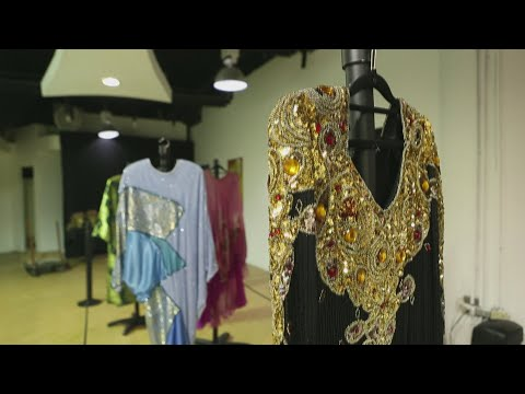 iconicos vestidos de celia cruz deslumbran en republica dominicana