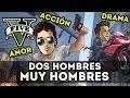 GTA V ONLINE - Dos Hombres MUY HOMBRES (Con Rubius)