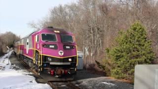 A Few Trains In Middleboro