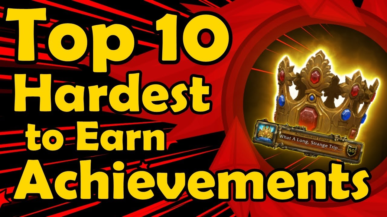 Top 10 Hardest to Earn Achievements in World of Warcraft thumbnail