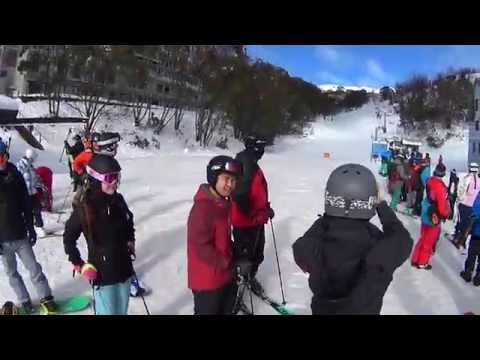 Eating and Karaoke Club Ski Trip 2016