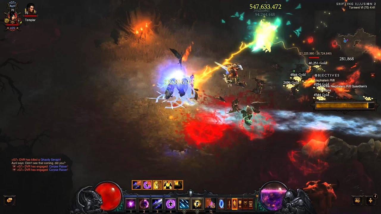 Diablo III Firebird Wizard fun with Furnace - YouTube