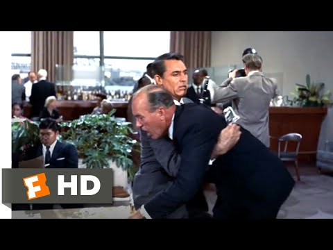 North by Northwest (1959) - Framed for Murder Scene (1/10) | Movieclips