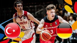 Turkey v Germany - Full Game - Quarter-Finals - FIBA U20 European Championship 2018