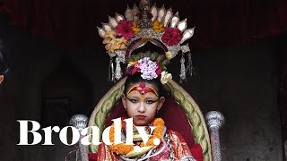 life of a kumari goddess the young girls whose feet never touch ground