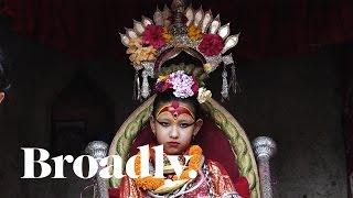 Video Life of a Kumari Goddess: The Young Girls Whose Feet Never Touch Ground download MP3, 3GP, MP4, WEBM, AVI, FLV Oktober 2018