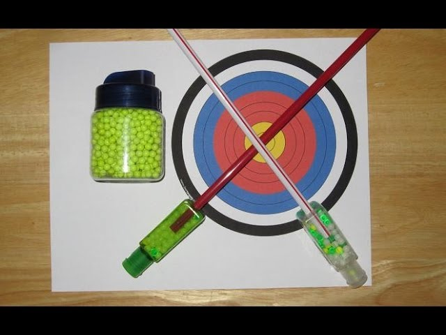 How to Make an Airsoft Blowgun Out of Household Items