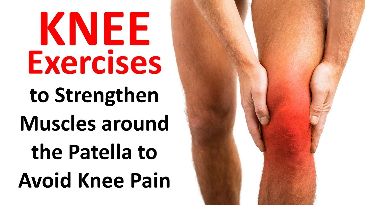 knee exercises to strengthen muscles around the patella to avoid, Human Body