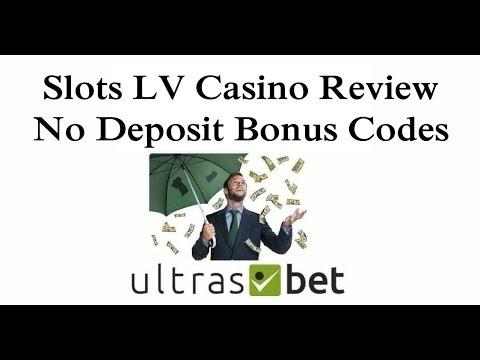 Slots Lv Casino Review No Deposit Bonus Codes 2019 Youtube