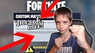 CUSTOM MATCHMAKING SPELEN MET KIJKERS!! DOE OOK MEE!! - Fortnite Battle Royale #339(Nederlands live)