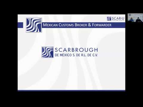 Mexico Shipping Process: Contact Scarbrough