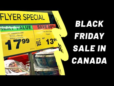 BLACK FRIDAY Sale & Deals- Part 1| Canada Vlog|கனடா| Small Kitchen Appliances|Cookware|Canadian Tire