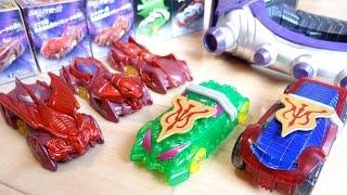 メディック洗脳シフトカーが商品化!?食玩 SGシフトカー8 全5種レビュー!ソーラー&スパイク メディックロイミュードVer ネオバイラルコア バット・コブラ・スパイダー 仮面ライダードライブ thumbnail