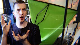 Do not buy this green screen.  [PRODUCT REVIEW GONE HORRIBLY WRONG]