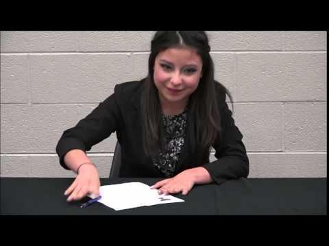 Kari Mendoza signs with Texas Tech School of Music