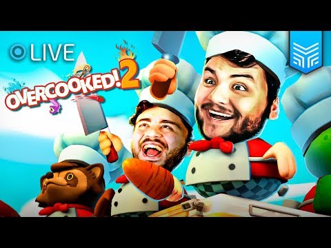 MASTERCHEF DOS GAMES! - OVERCOOKED 2 GAMEPLAY