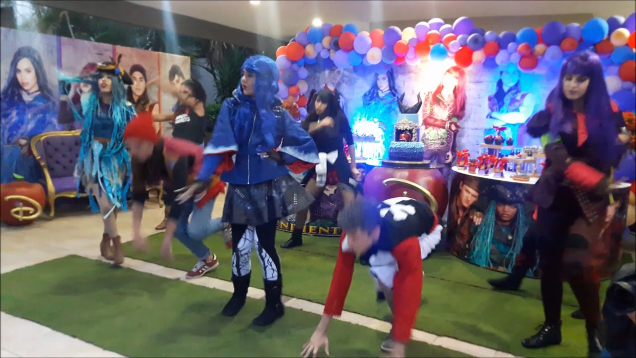 Descendientes Fiesta 2 De Fd Producciones Tu Cumpleaños By La Magia En 9WIEDH2
