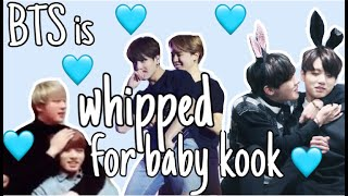 Download lagu BTS babying Jungkookie PART 2 | hyungs are whipped for the maknae