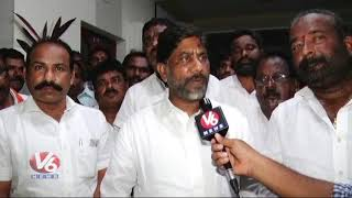 CM KCR Responsible For Srinivas Reddy's Death : Mallu Bhatti Vikramarka | V6 Telugu News