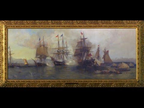 American Artifacts Extra: Battle of Plattsburgh - Davidson Painting