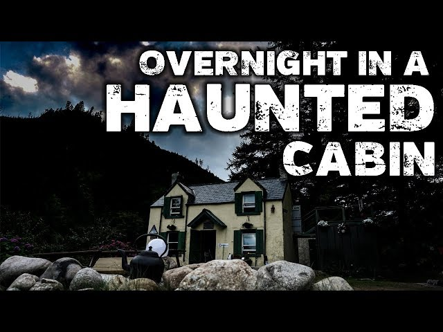 OVERNIGHT in a REAL Haunted Cabin in the Woods | Scary Mary | Glenmalure Hostel