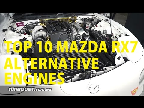 Top 10 Mazda RX7 Engine Swaps you MAY consider!