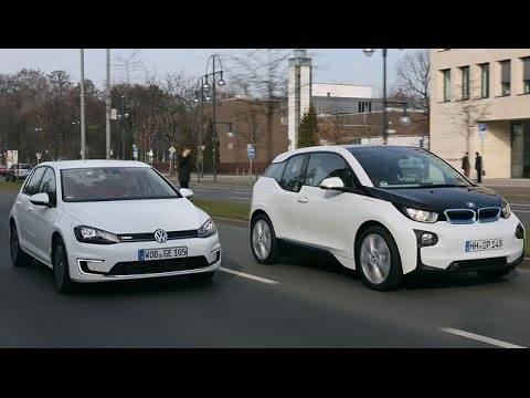 bmw i3 vs vw e golf youtube. Black Bedroom Furniture Sets. Home Design Ideas