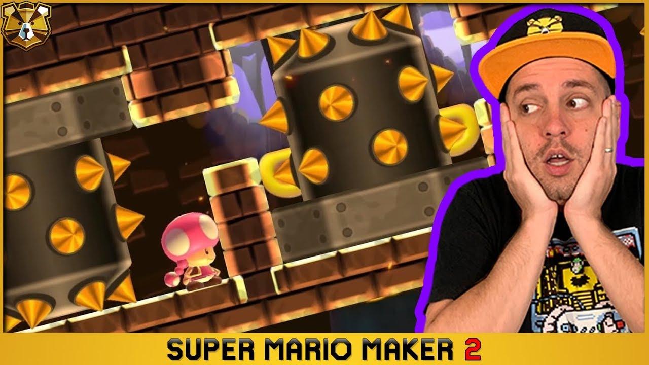 Super Mario Maker 2: Endless Super Expert #10: 3 Skip FOR THE PEOPLE!