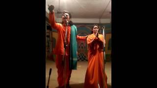 bhaktayoga padanyasi varanasi padyam performed by D.V SUBBA RAO