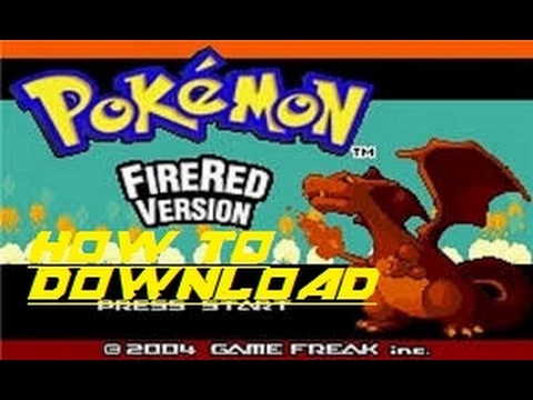 download pokemon fire red for gba emulator android