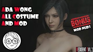 "RESIDENT EVIL 2 Remake ""ADA WONG All Costume"""