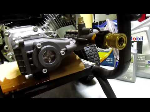 How to change pressure washer pump oil Simpson