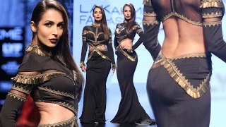 HOT Malaika Arora Khan, Sushmita Sen Ramp Walks At Lakme Fashion Week 2017