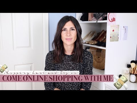 Come Online Shopping with Me - Haul + Try On | Mademoiselle #AD