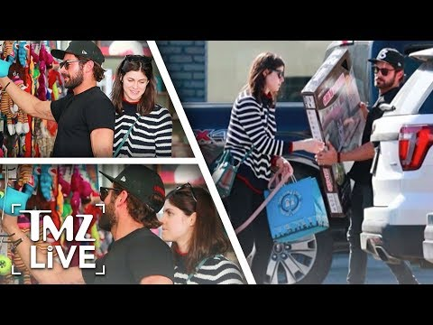 Zac Efron's Got A New Love! | TMZ Live