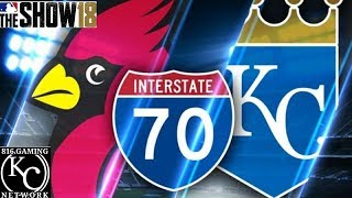 MLB The Show 18 Gameplay: Cardinals vs Royals