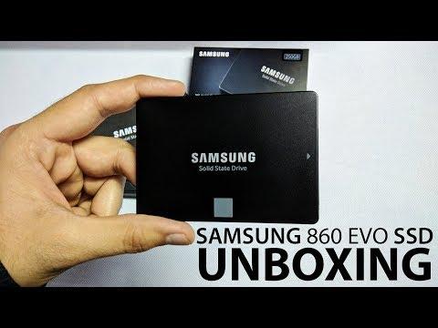 Samsung 860 EVO SSD Unboxing