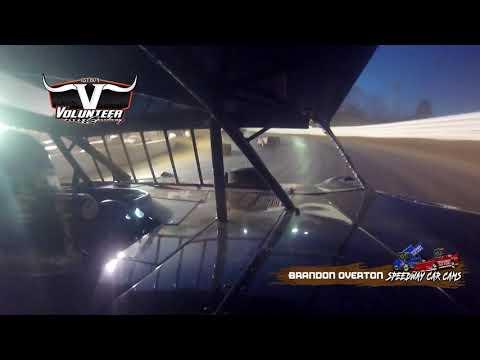 #76 Brandon Overton - #Grinch40 Xtream Dirtcar Series - 12-7-19 Volunteer Speedway - In-Car Camera