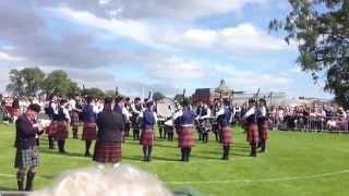 University of Bedfordshire Pipe Band Worlds 2012