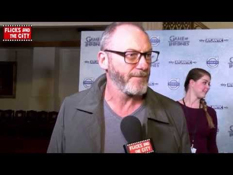 Game of Thrones Davos Seaworth Interview - Liam Cunningham