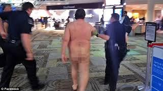 Naked Man Arrested In Nashville Airport For Public Indencency!!