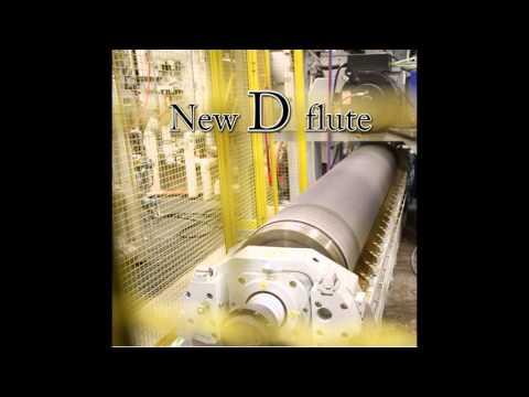 New BHS 110'' corrugator of Norampac Drummondville