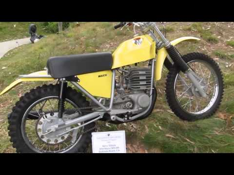 1974 Maico MX-400 bike on Beverly Hills Concours d'Elegance 2013