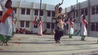 K.V DANTEWADA (DANCE PERFORMED BY PRIMARY STUDENTS)