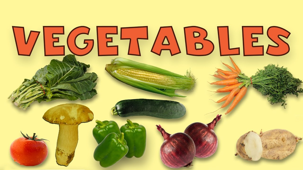 Vegetable Names With Pictures For Children In English ...  Vegetables