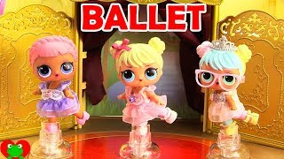LOL Surprise Dolls Royal Ballet Performance
