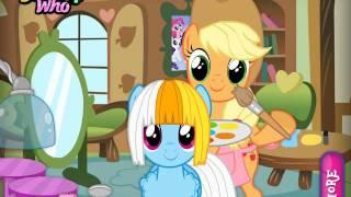 Мультик игра Май литл пони: Парикмахерская (My Little Hair Salon)