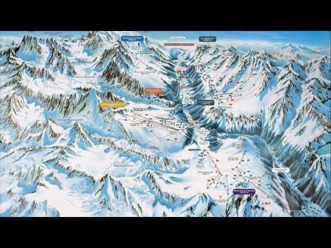 Chamonix-mont-blanc France Map