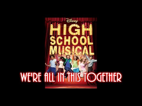 We're All in This Together from High School Musical Drum Cover by Myron Carlos